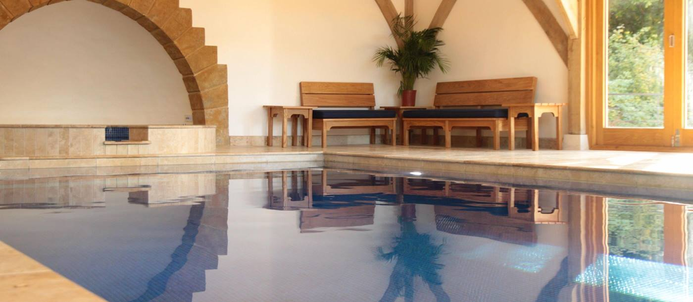 Indoor swimming pool of Melksham Court, Cotswold