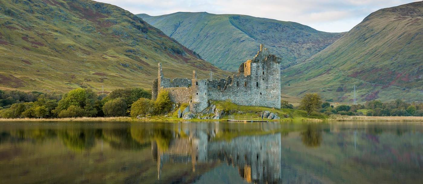 Kilchurn Castle at Loch Awe, Scotland