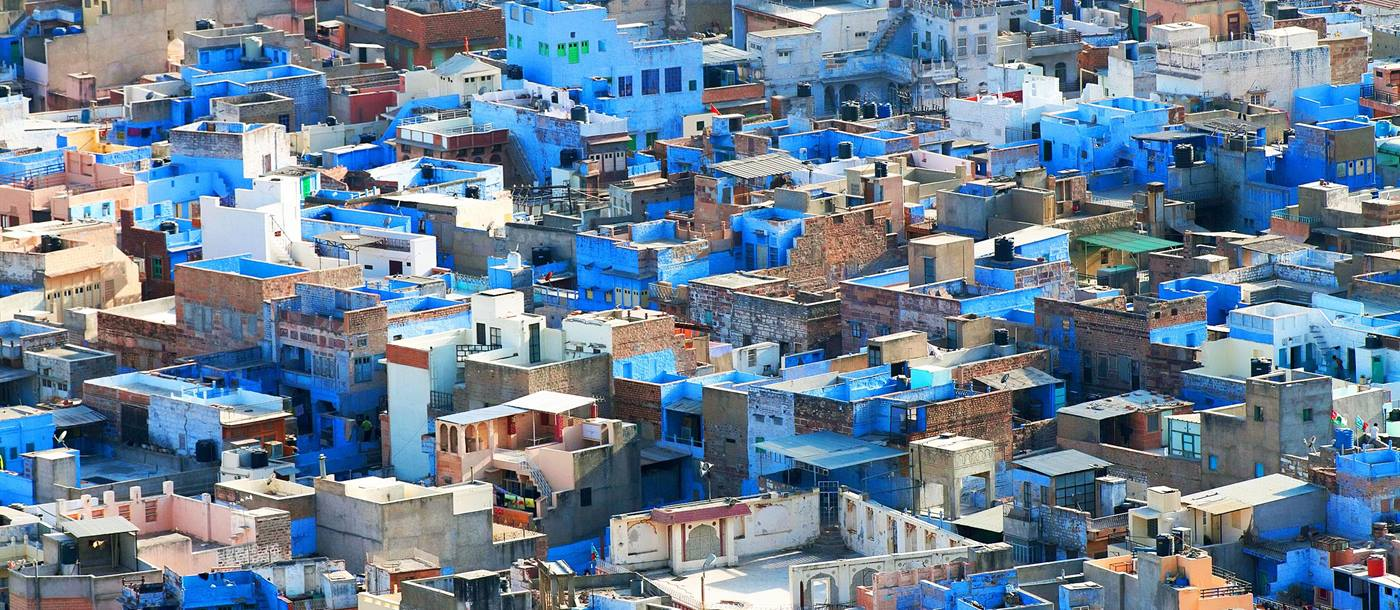 Blue buildings of Jodhpur