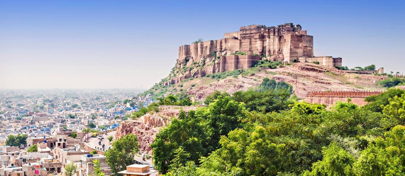 Mehrangarh Fort Jodhpur, India