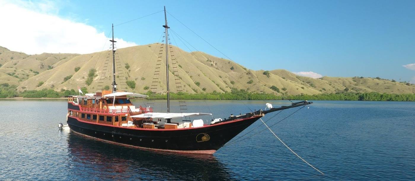 Exterior of Samata with Komodo Background in Indonesia