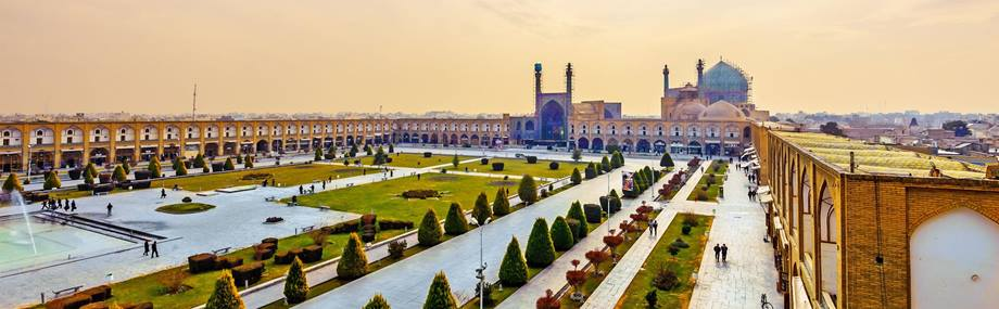 The Imam Square in Isfahan, Iran