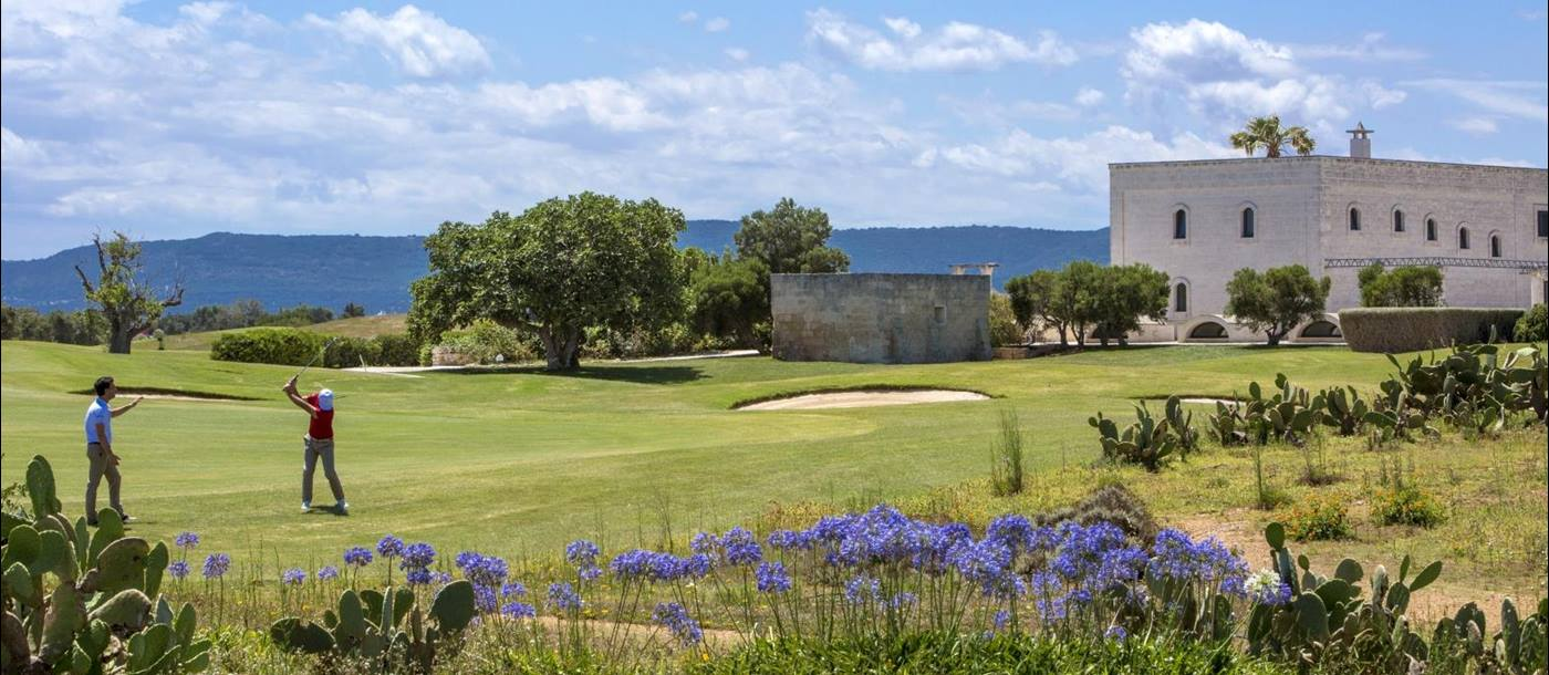 Golf available at Borgo Egnazia in Italy