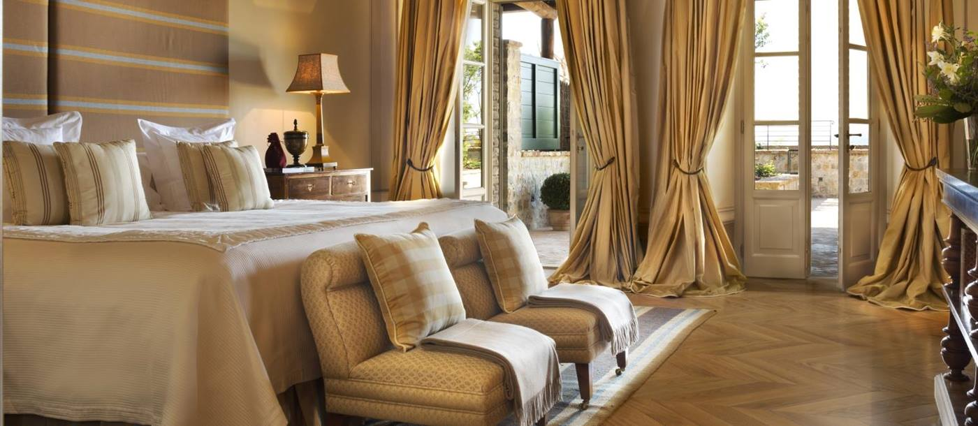 Suite at at Castiglion del Bosco`