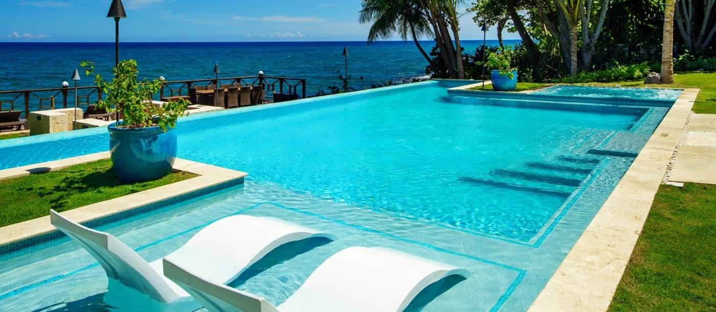 The pool at Aqua Bay in Jamaica