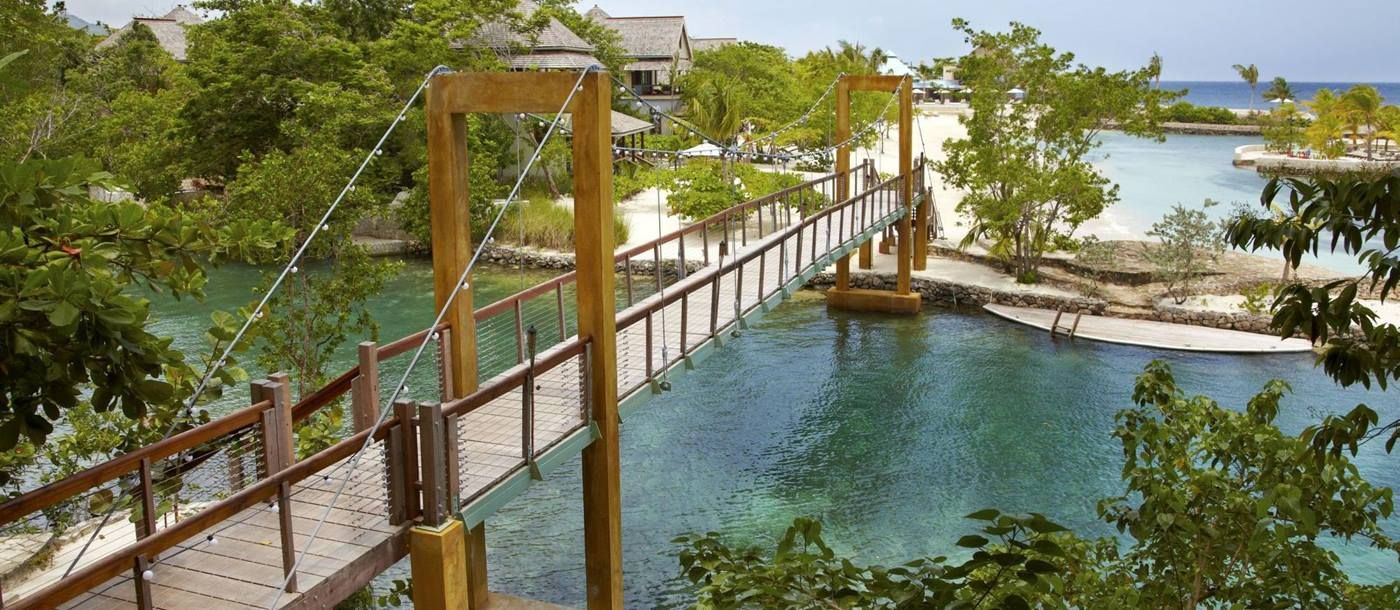 bridge of Goldeneye Villas, Jamaica
