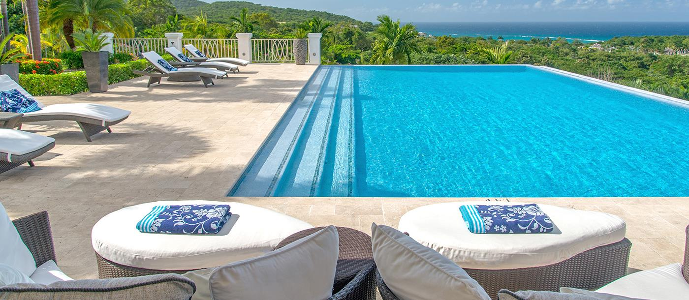 Loungers at Harmony Hill in Jamaica