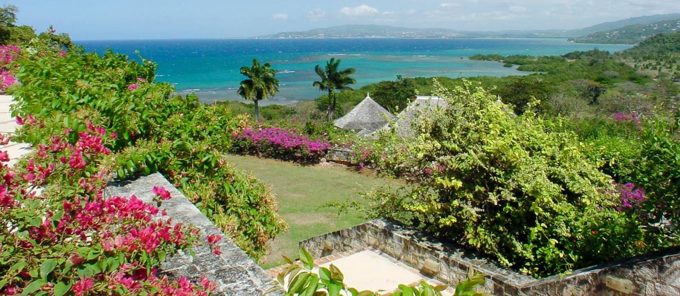 The gardens at Longview Manor, Jamaica