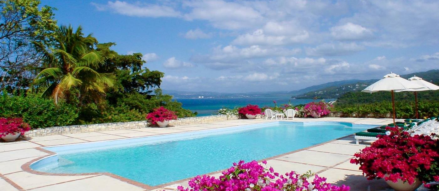 The pool at Longview Manor, Jamaica