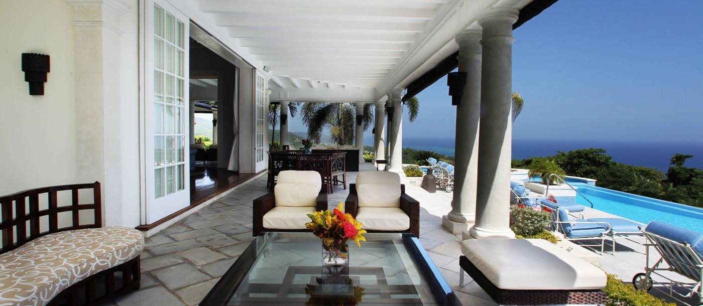 Terrace of Twin Palms, Jamaica