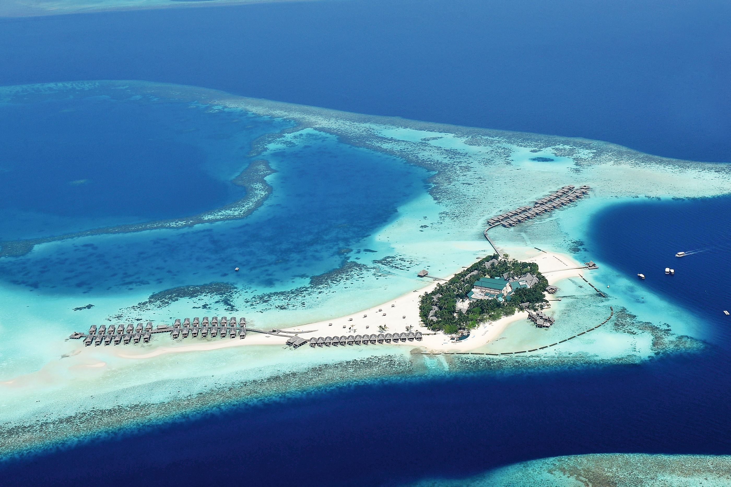 An aerial view of Constance Moofushi