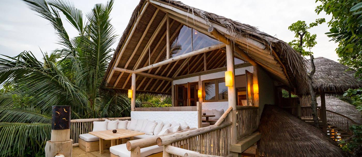 The Crusoe Villa suite at Soneva Fushi, Maldives