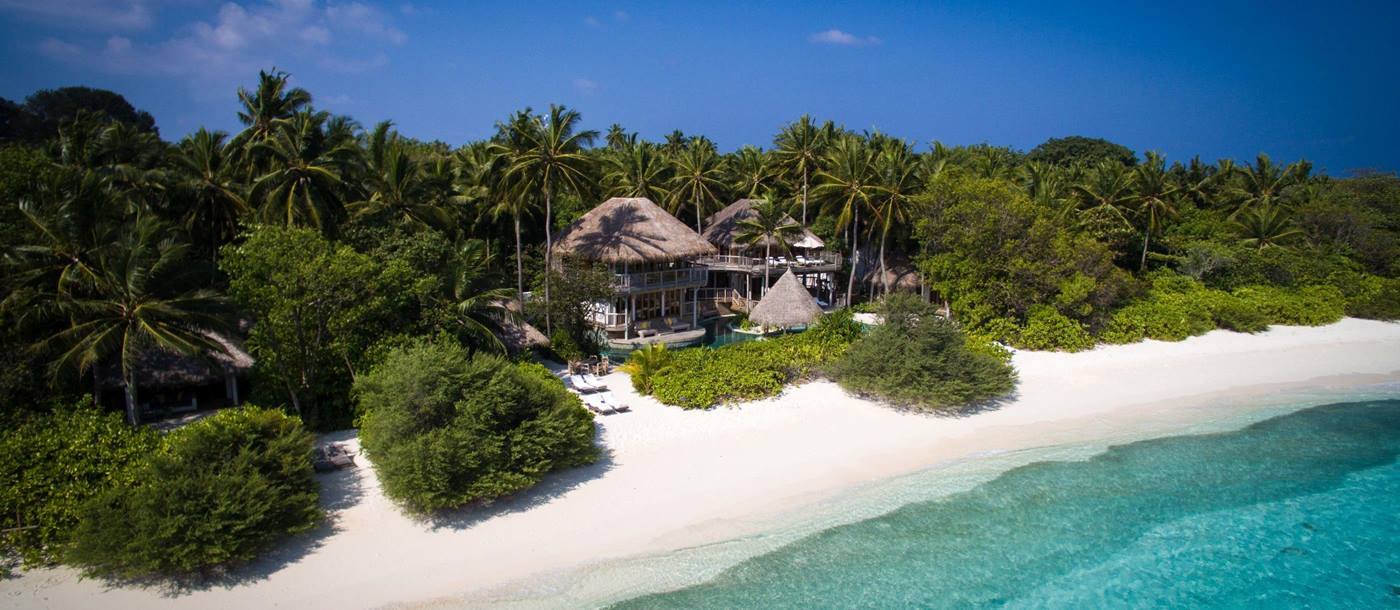 A Jungle Retreat with direct beach access at Soneva Fushi, Maldives