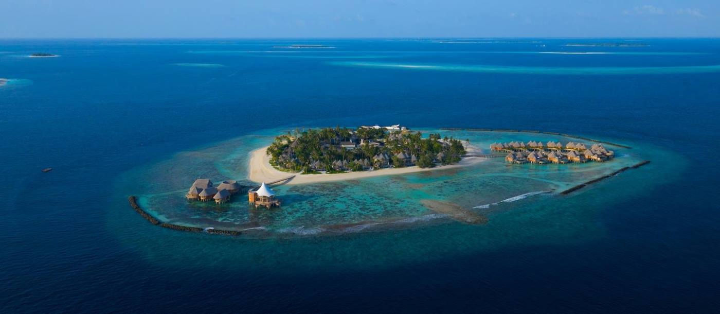 The Nautilus, Maldives - Aerial