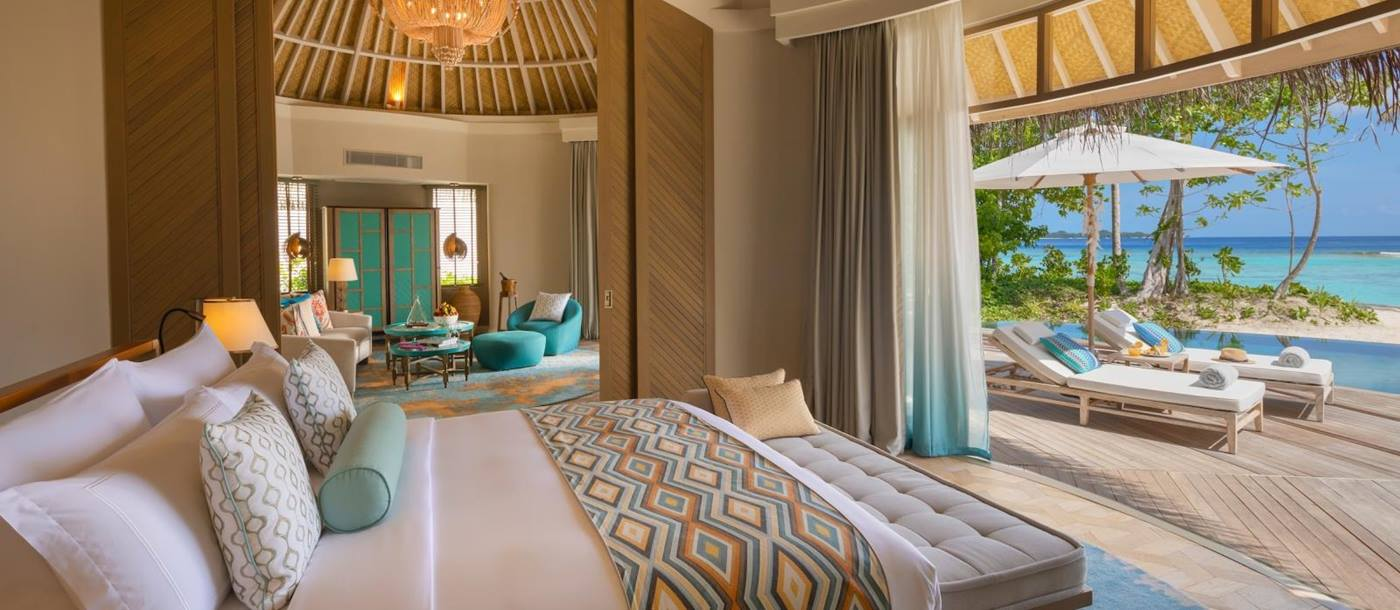 The Nautilus, Maldives - Beach House Bedroom