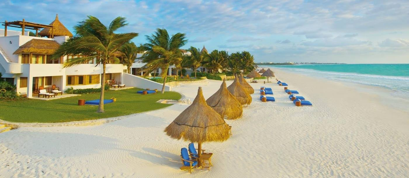 Beach at Belmond Maroma Resort in Mexico