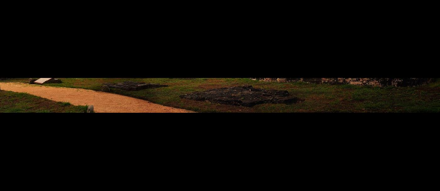 Chichen Itza in Mexico at sunset