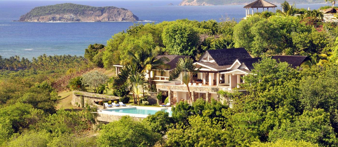 Exterior of Full Moon, Mustique