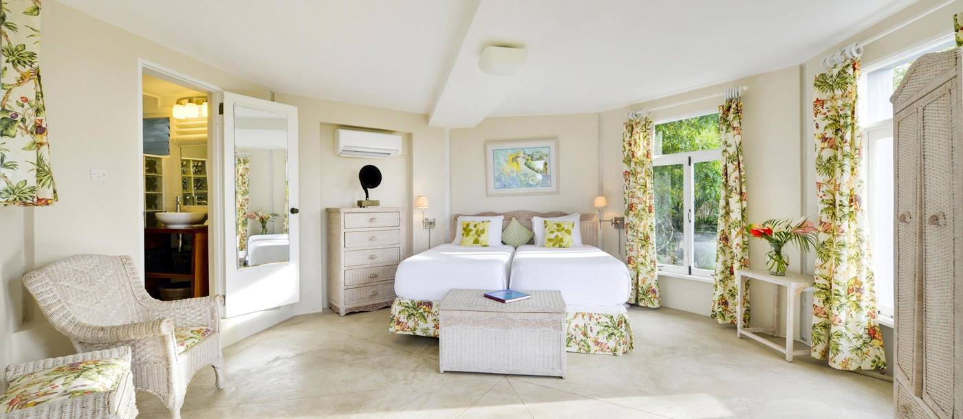 Double bedroom in Seafan, Mustique