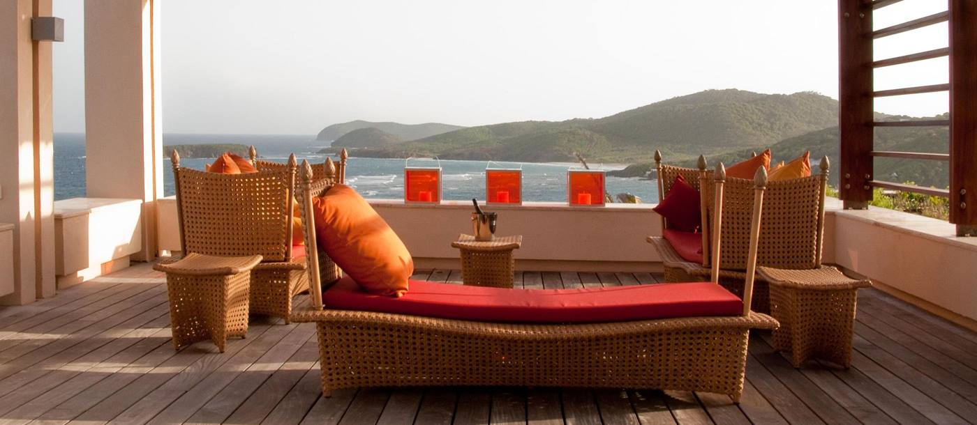 Terrace of Taliesin, Mustique