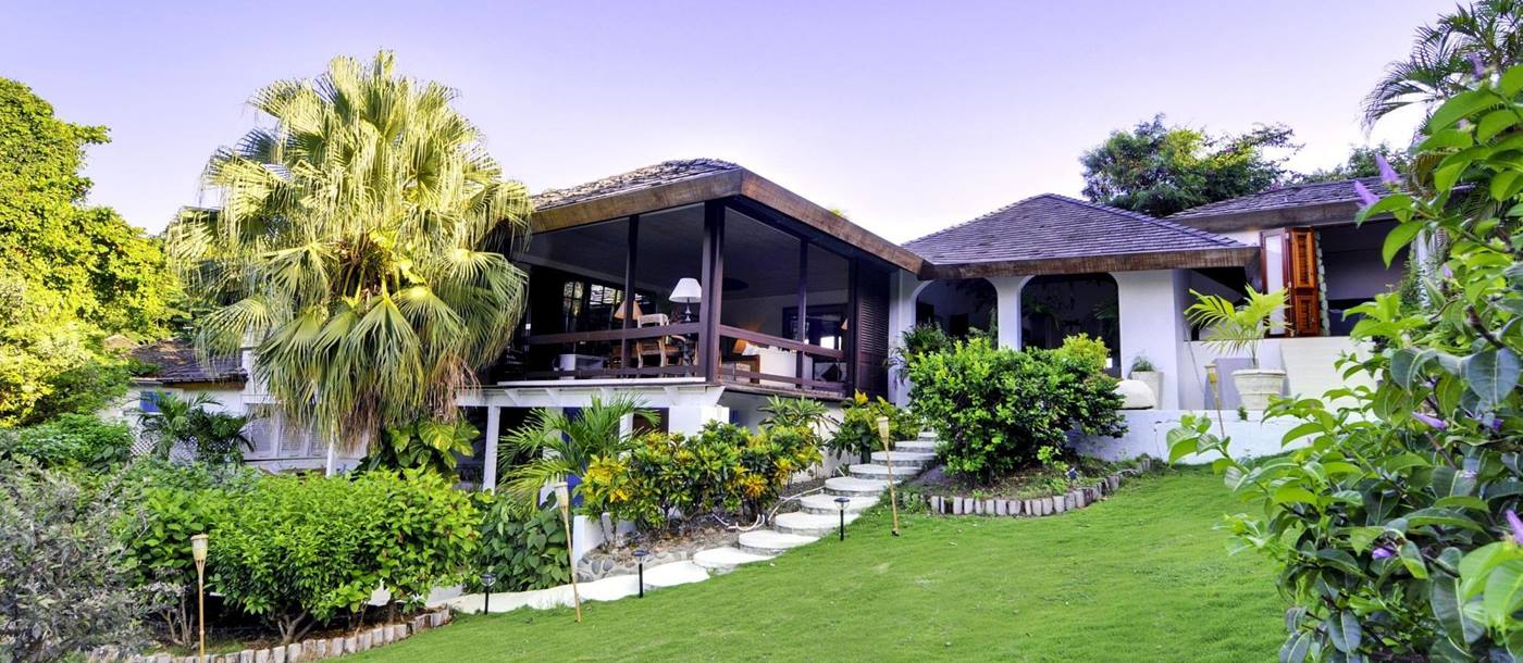 Exterior of Tetto Rosso, Mustique
