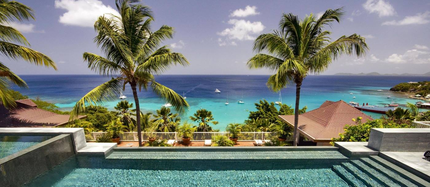 Swimming pool of Tortuga, Mustique