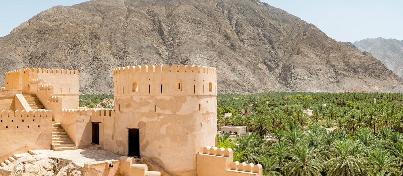 The Nakhal Fort, Oman