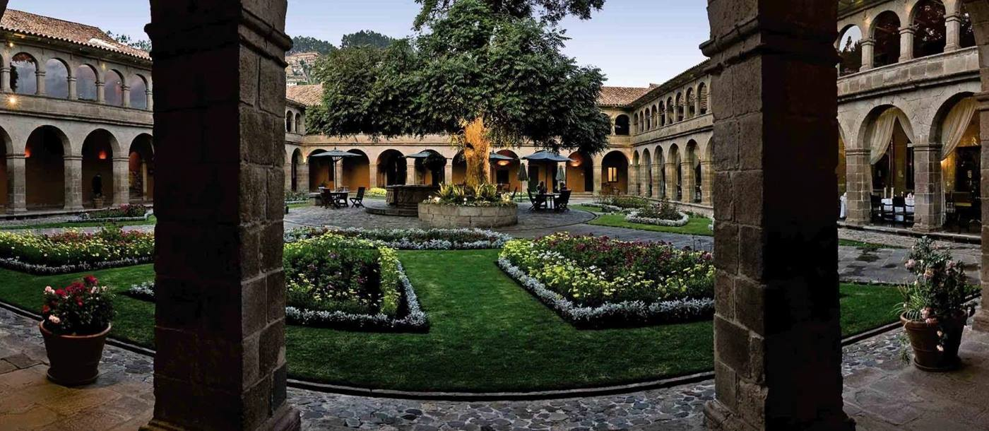 Gardens at Belmond Monasterio in Peru