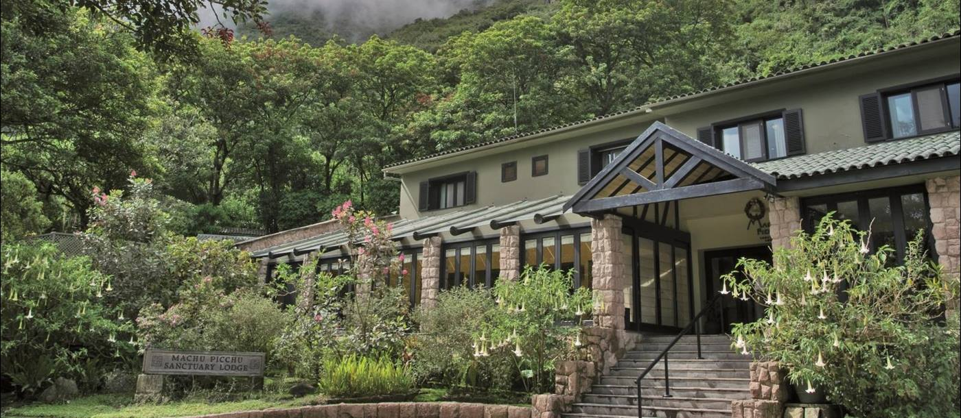 Exterior at Belmond Sanctuary Lodge in Peru