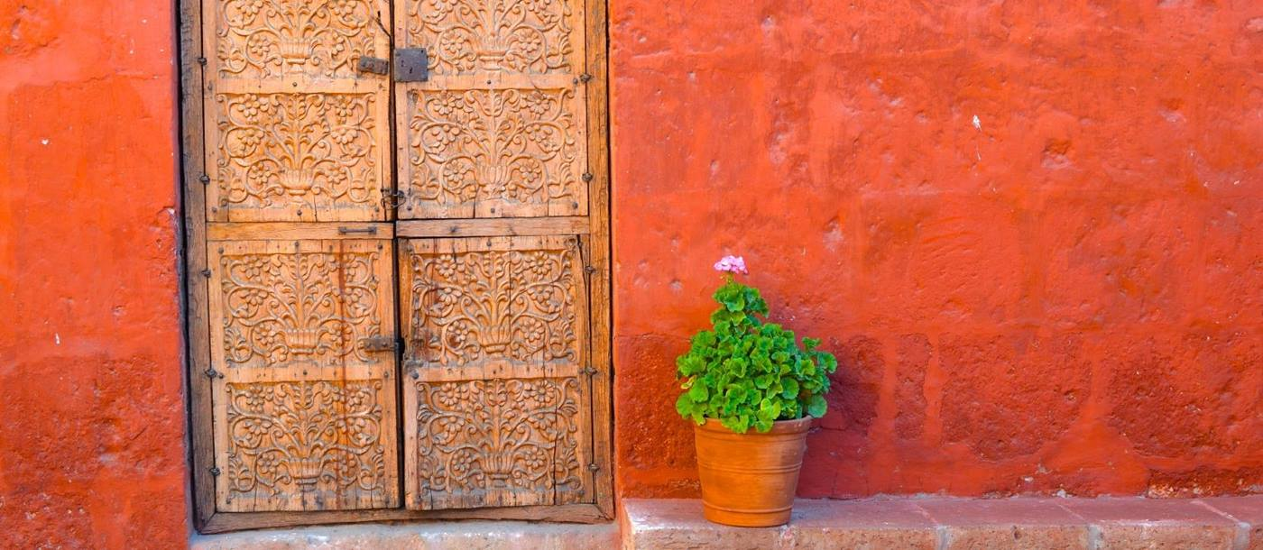 Arequipa door way, Peru