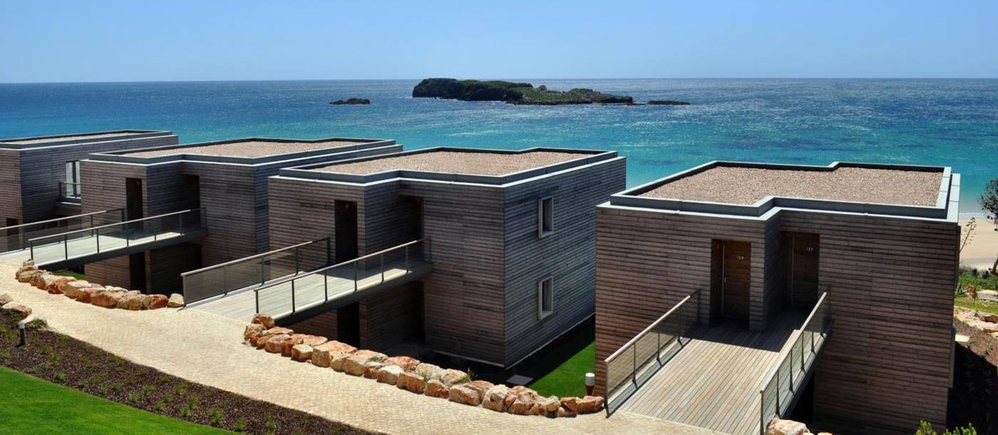 Exterior of apartments in Martinhal Sagres, Portugal