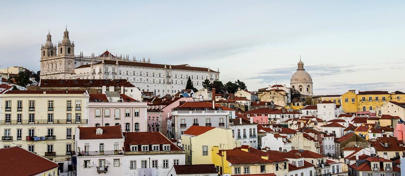 View from suite at Santiago Alfama, Lisbon