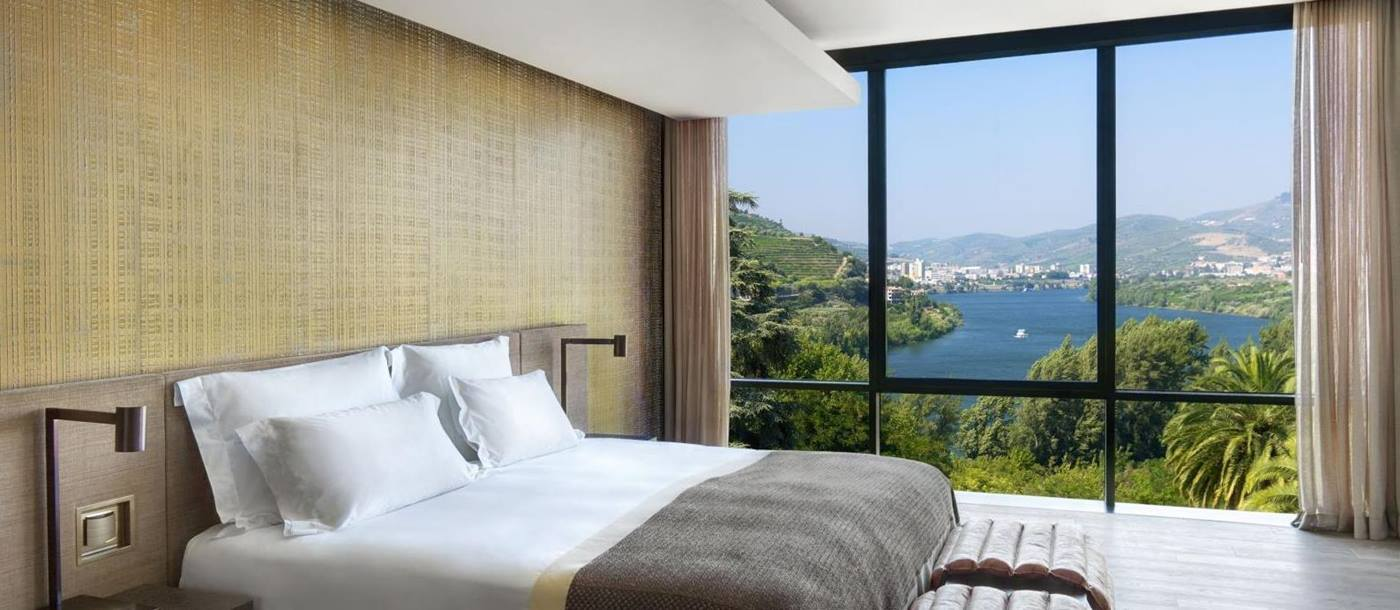 Panorama suite of Six Senses Douro, Portugal