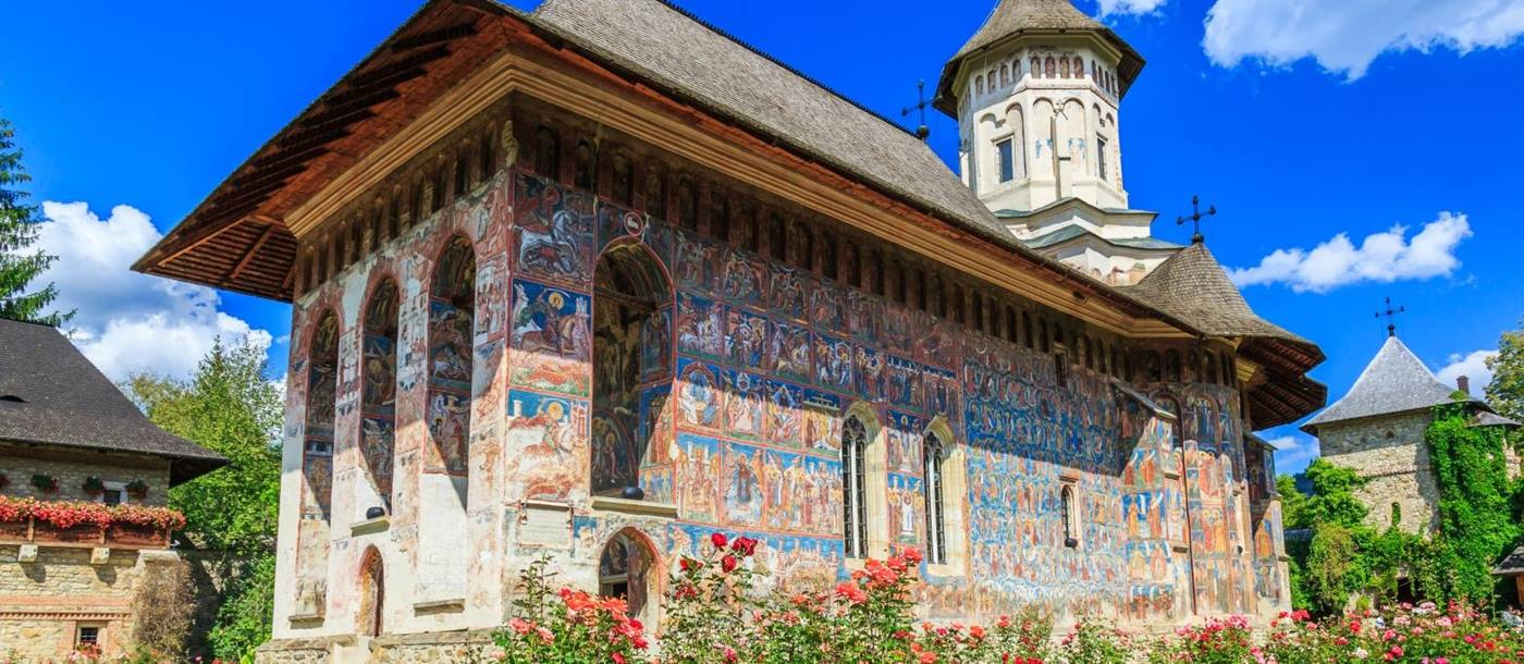 Sucevita Painted Monastery in Romania