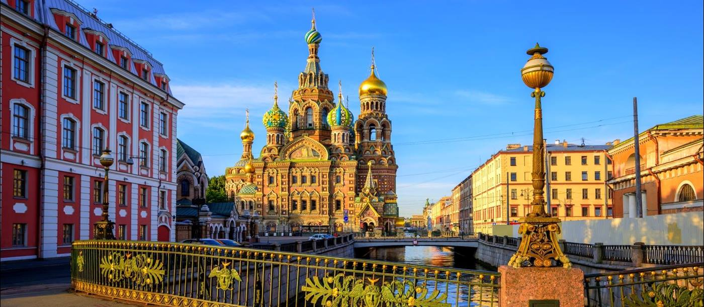 Church of the Saviour on Spilled Blood in Russia