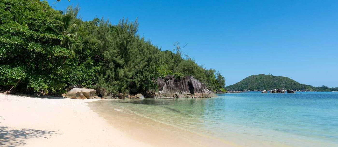 beach of Constance Ephelia Resort, Seychelles