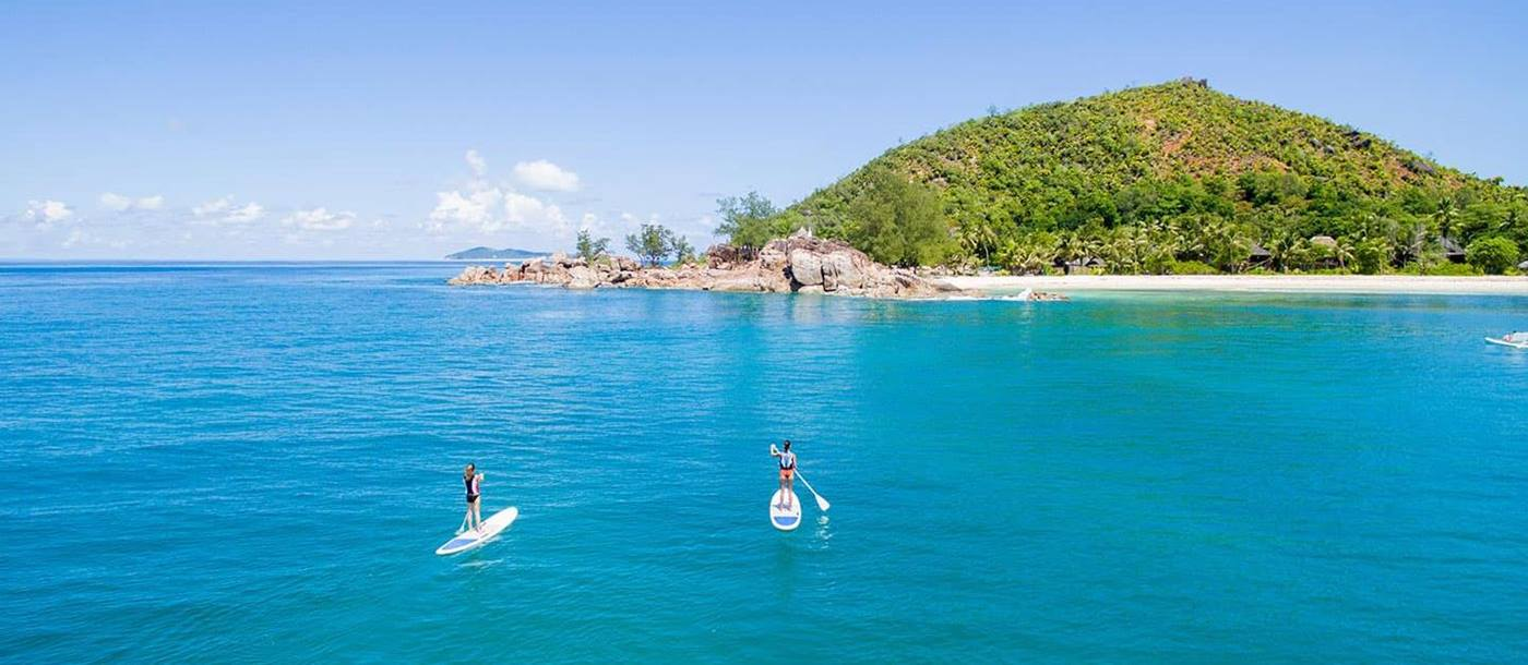 watersports at Constance Lemuria, Seychelles
