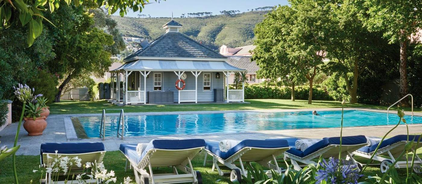 Pool at Belmond Mount Nelson in South Africa