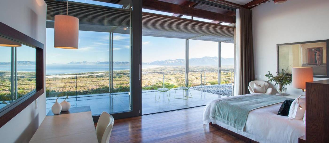 Guest room with ocean views at Grootbos Private Villas South Africa