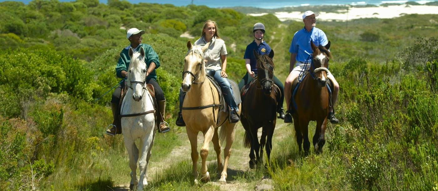 Riding at Grootbos