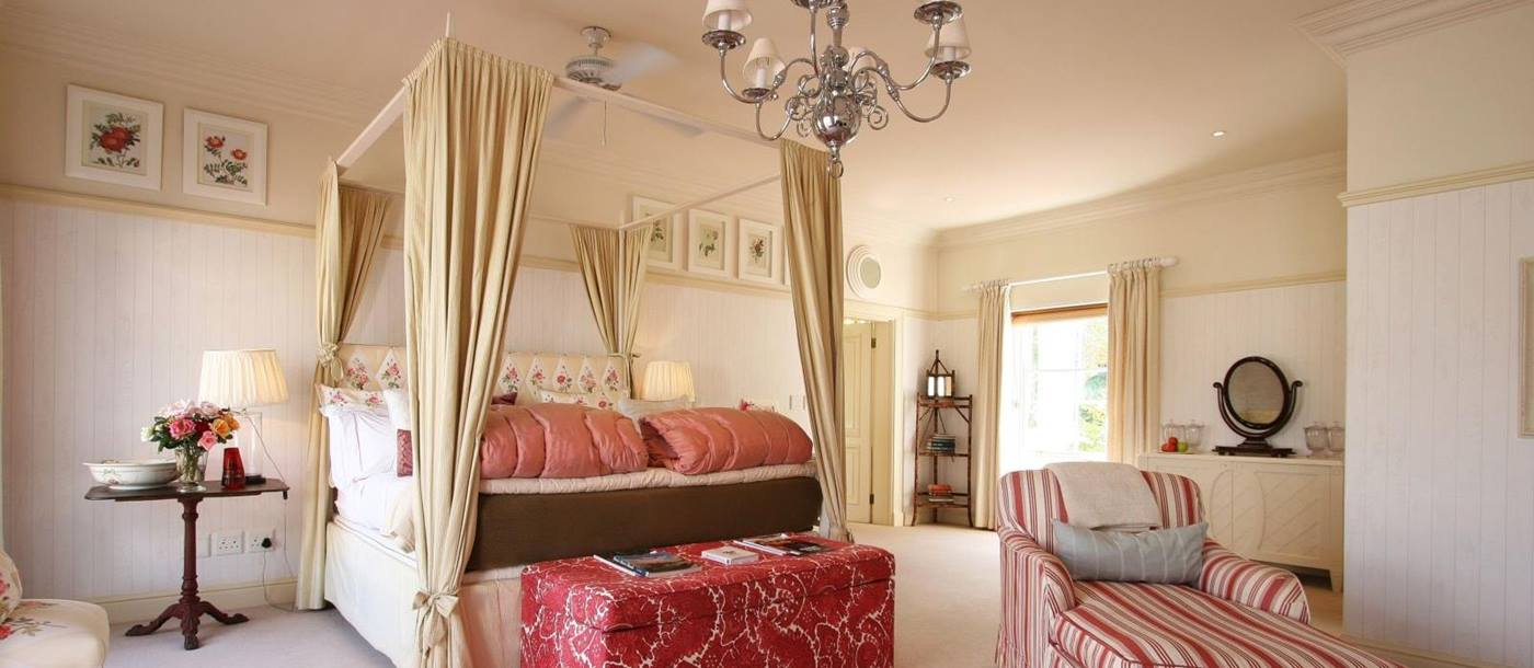 Bedroom at Kurland in South Africa