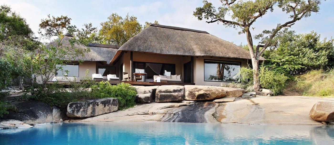 Pool at Londolozi Granite Suites in South Africa