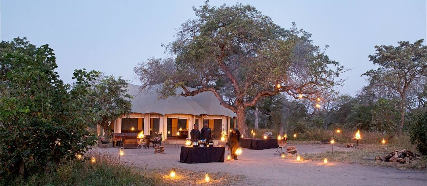 Bush Tent at Royal Malawane-Greater Kruger - South Africa