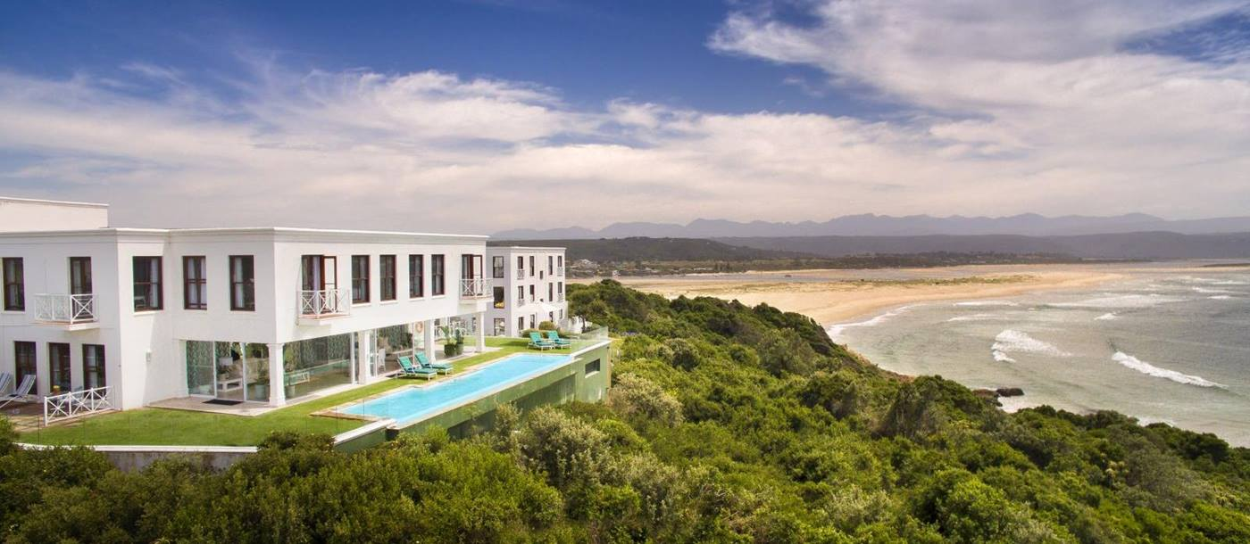 Exterior view of The Plettenberg in South Africa