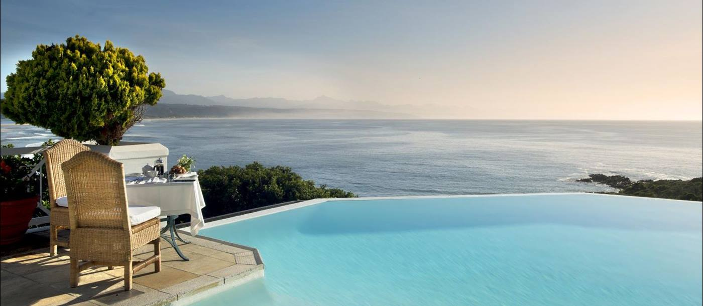 Main pool at The Plettenberg in South Africa