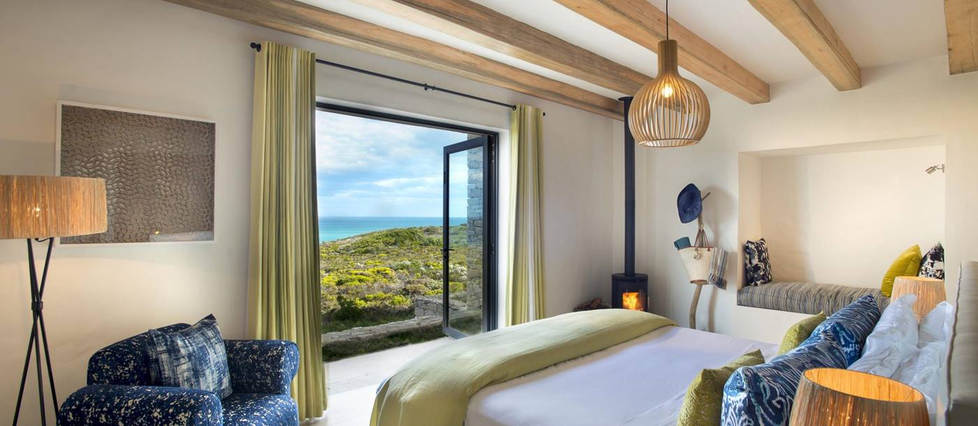 A bedroom at Morukuru Ocean House