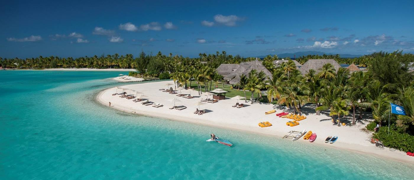 Beach sports at St Regis Bora Bora
