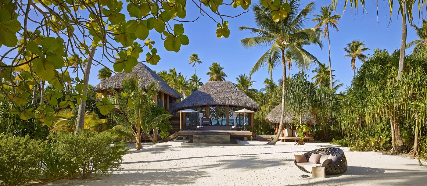 A two bedroom villa at the Brando in French Polynesia