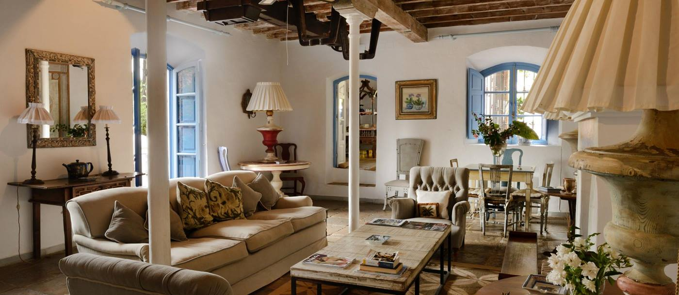 The living room of El Molino, Andalucia