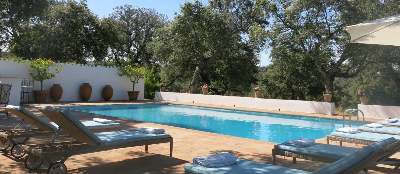 the pool at finca torillo